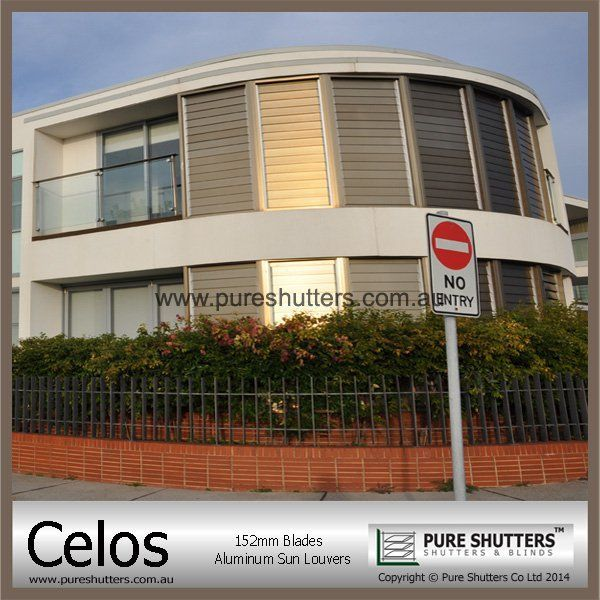 Celos 152mm Window Jalousy
