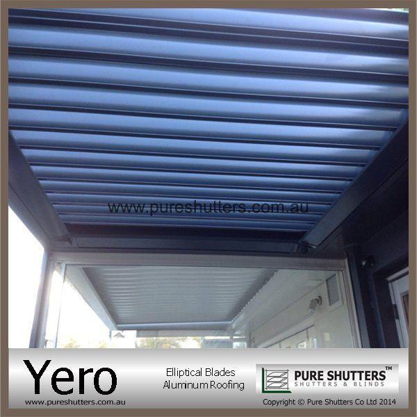 Yero Motorized Louver Ceilingpure Shutters Company Limited