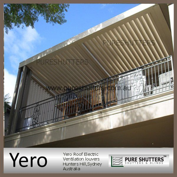 YERO ROOF Automatic Electric Ventilation louver
