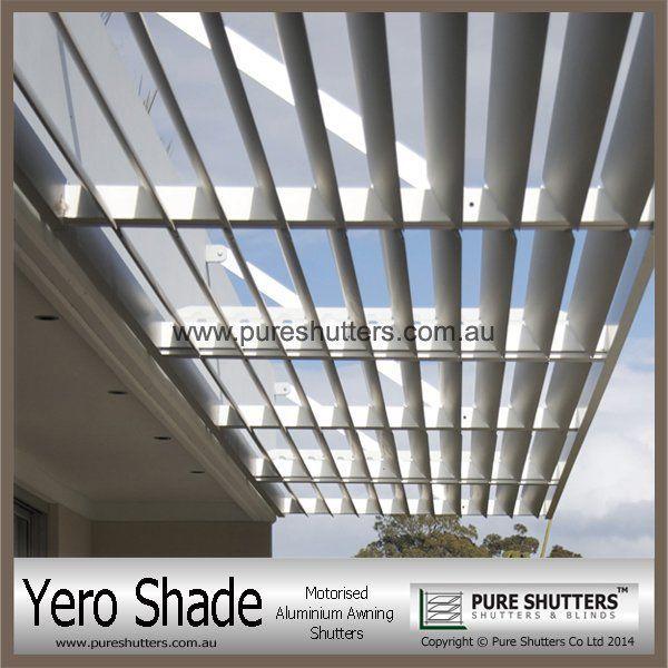 YERO SHADE YS016004 Motorised Awning Aluminium Sun