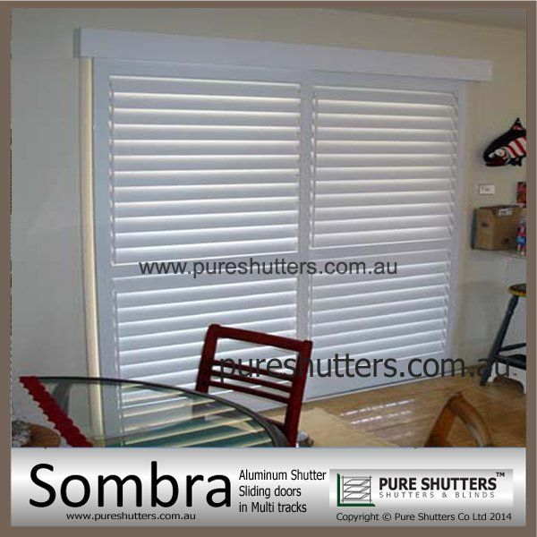 SS012002 Sliding Aluminium Interior Security Shutter
