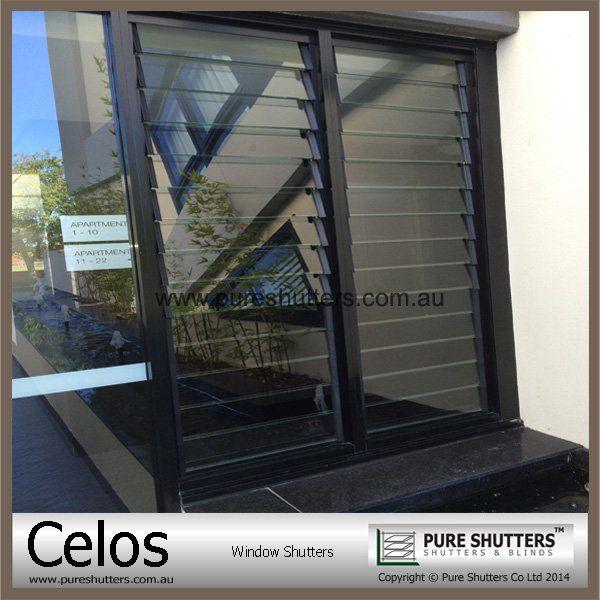 Built in glass exterior decorative aluminum window - Aluminum window shutters exterior ...