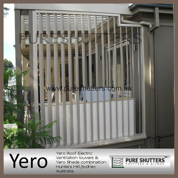 Automatic Electric Louver