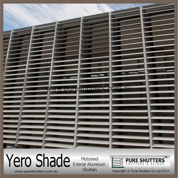 YERO SHADE YS001004 Motorized Exterior shutters