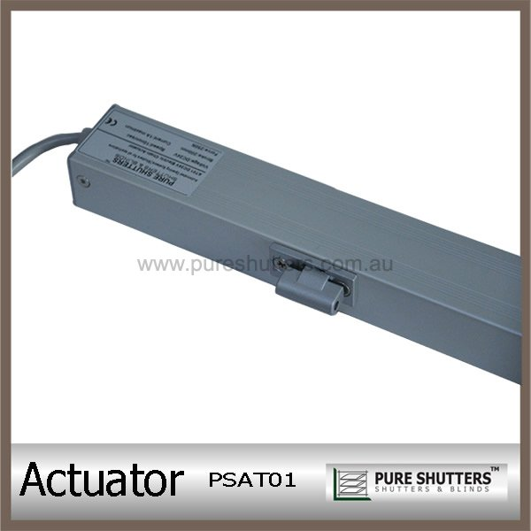 Window motor electric linear actuatorpure shutters company for Electric motor for skylight